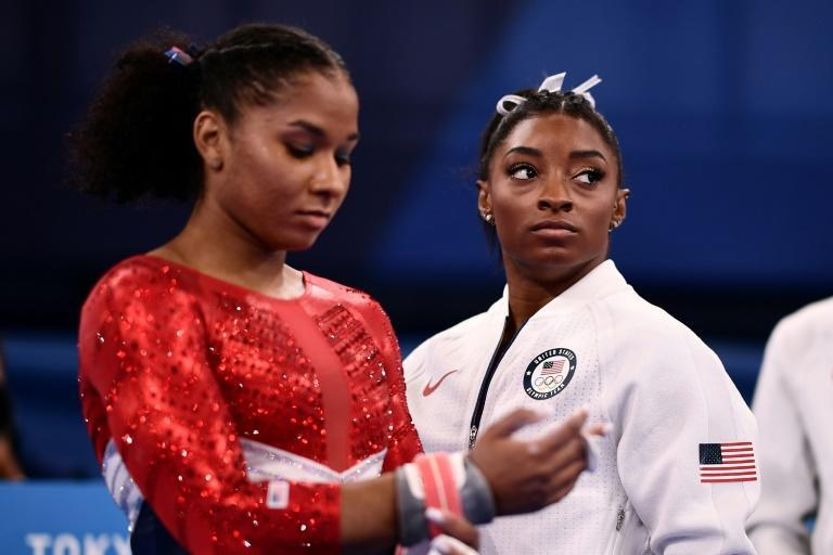 Simone Biles was replaced in the US rotation for the Olympic team final after a lacklustre vault