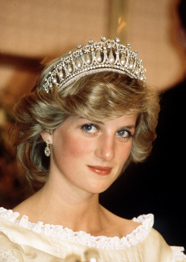 "<p>It's hardly surprising that many sartorial similarities are seen in the Duchess of Cambridge and Princess Diana. Kate Middleton often seeks inspiration from her late mother-in-law when dressing for royal occasions. For example, Kate has often been spotted wearing what is said to have been one of Diana's most treasured tiaras, the ""Cambridge Lover's Knot."" The 19-tiered diamond tiara was given to Diana by Queen Elizabeth as a wedding gift in 1981. Princess Diana donned the tiara, designed by royal jewelers Garrard for Queen Mary in 1914, for an occasion in New Zealand back in April 1983. (Photo: PA) </p>"