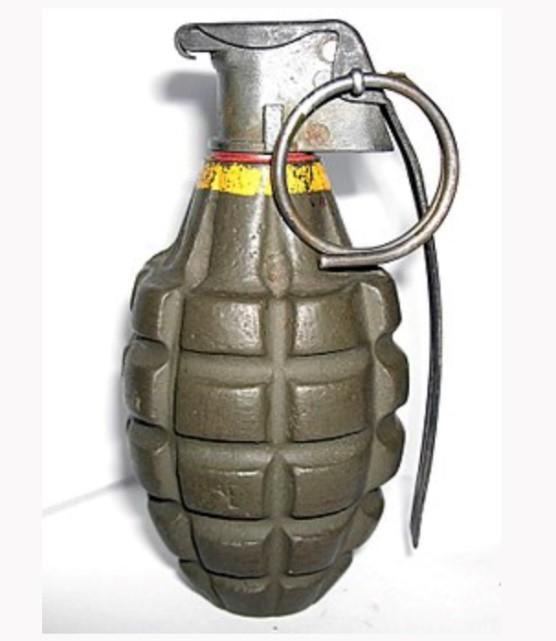 The ATF released a photo of a grenade similar to the device thought to have been sold at the antique mall in June.  / Credit: ATF