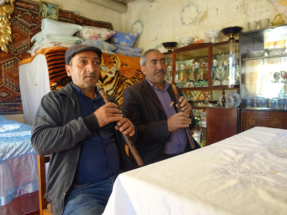 The duduk is an ancient Armenian flute, often played at funeralsLemma Shehadi