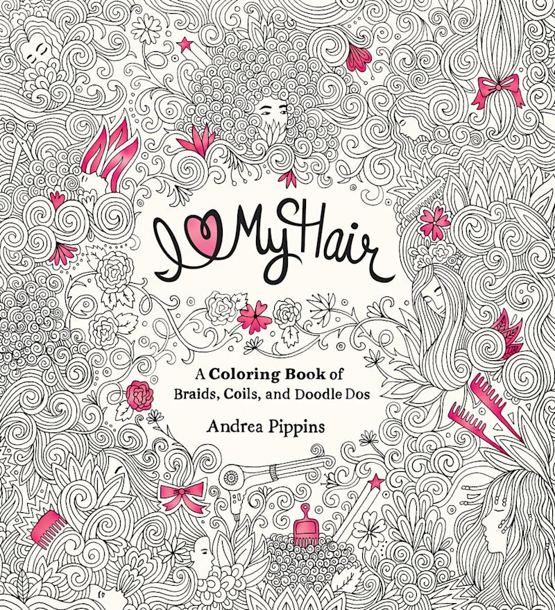 I Love My Hair Coloring Book Espouses Confidence For Adults