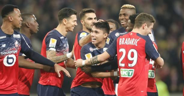 Foot - C.Ligue - Coupe de la Ligue : Lille élimine Amiens et file en demi-finales