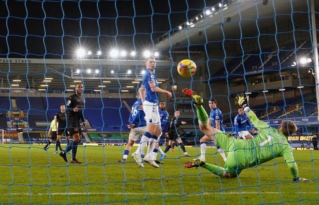 City won 3-1 at Everton in February in a game rearranged from December