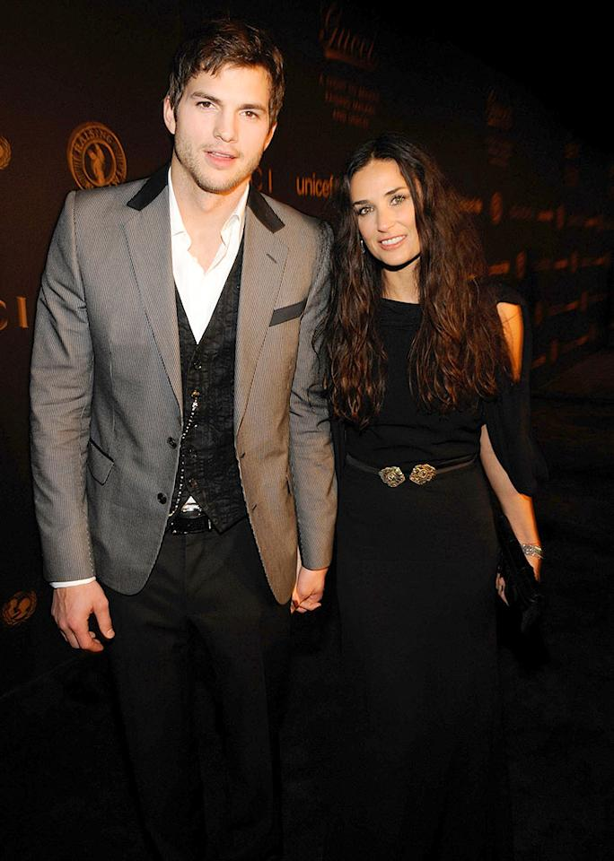"Although people were skeptical about Ashton Kutcher and Demi Moore's May-December romance, the Hollywood power couple is still going strong. Kevin Mazur/<a href=""http://www.wireimage.com"" target=""new"">WireImage.com</a> - February 6, 2008"