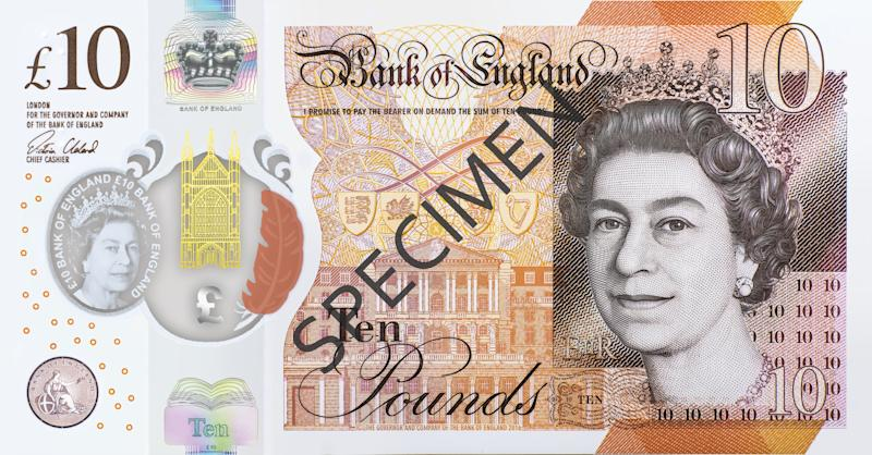 The new £10 note will be issued on 14 September (Bank of England)