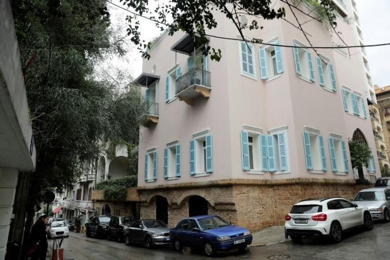 A house identified by court documents as belonging to former Nissan chief Carlos Ghosn in Beirut