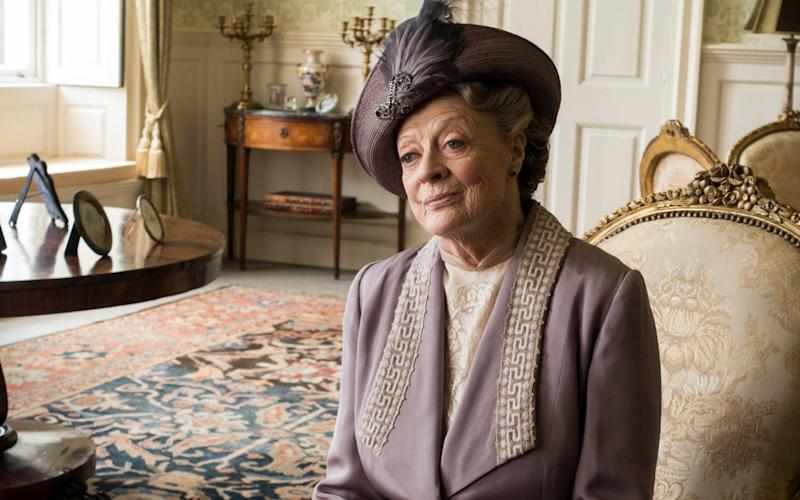 A similar effect has previously been reported for Downton Abbey, starring Dame Maggie Smith