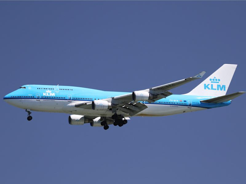 KLM Royal Dutch Airlines Boeing 747
