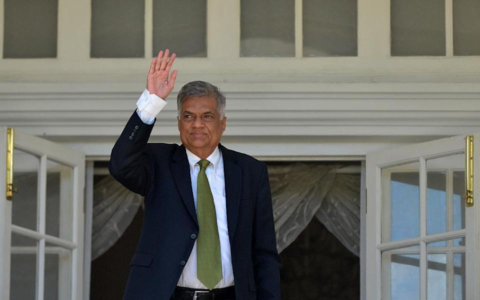 Prime Minister Ranil Wickremesinghe's United National Party (UNP) emerged as the single largest party after the August 17 election in Sri Lanka, and is now expected to push through democratic and economic reforms (AFP Photo/Ishara S. Kodikara)