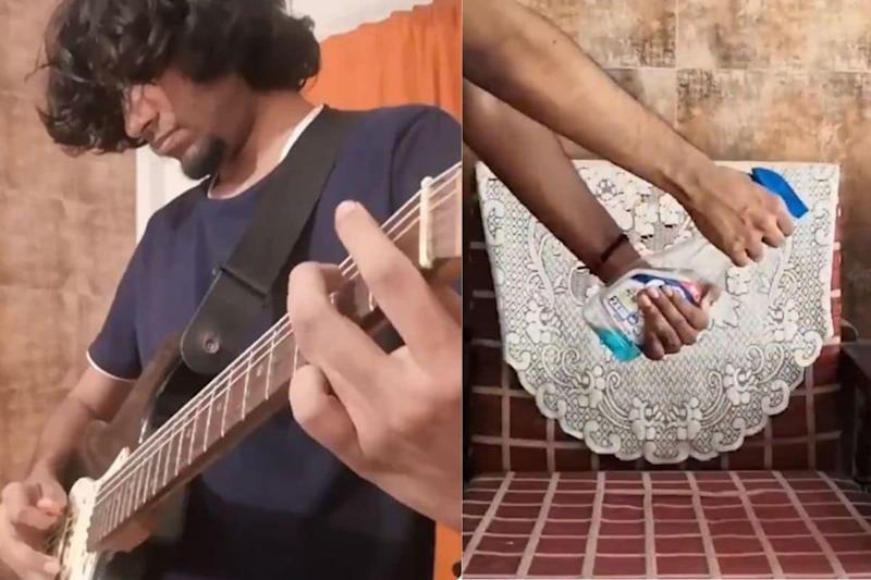 Watch: Artist Gives a Twist to Queen's 'We Will Rock You' and Urges Netizens to Use Sanitisers