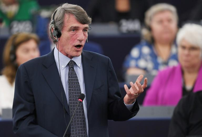 Italian MEP David-Maria Sassoli, who was elected European Parliament president, is a former television news journalist