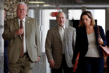 Stanley Patz, father of Etan Patz, arrives for court at the New York State Supreme Court in the Manhattan borough of New York
