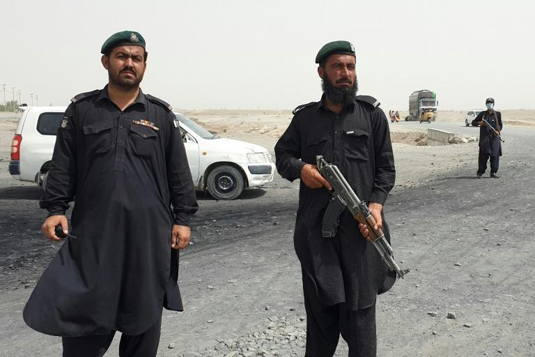 The border town of Chaman is guarded by Pakistan's frontier constabulary