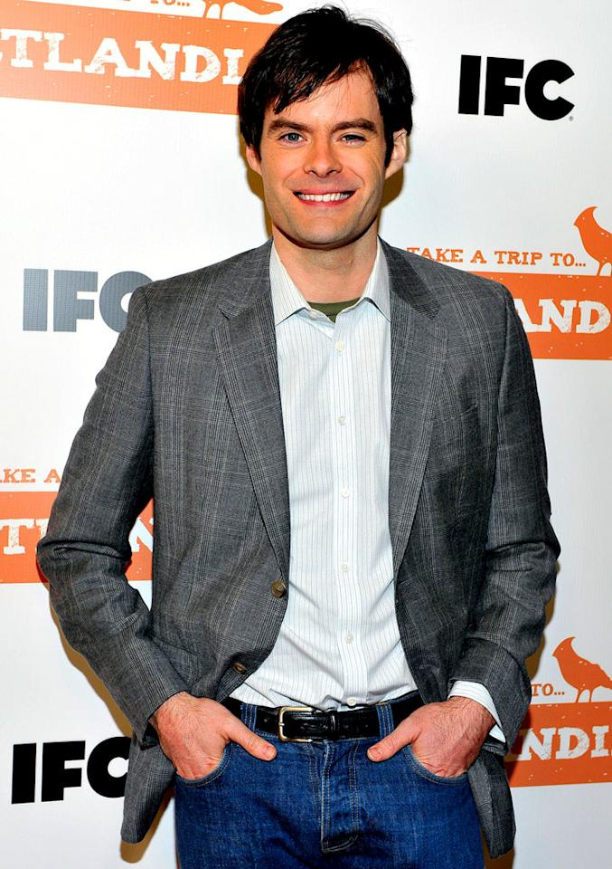 """SNL"" star Bill Hader turns 34 on June 7."