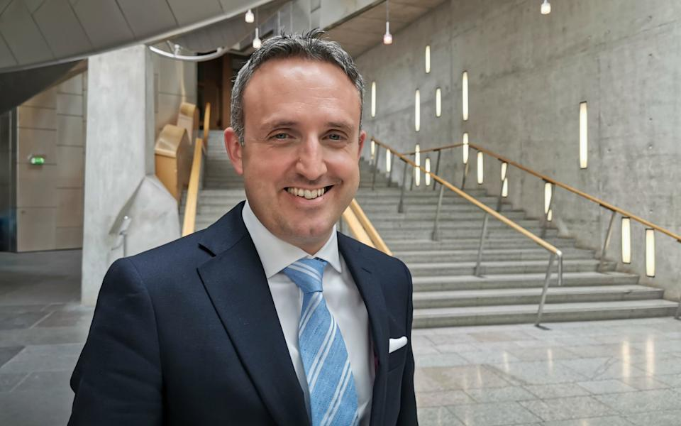 Alex Cole-Hamilton, the LibDem MSP, said ministers were in the 'last chance saloon' - Tom Eden/PA
