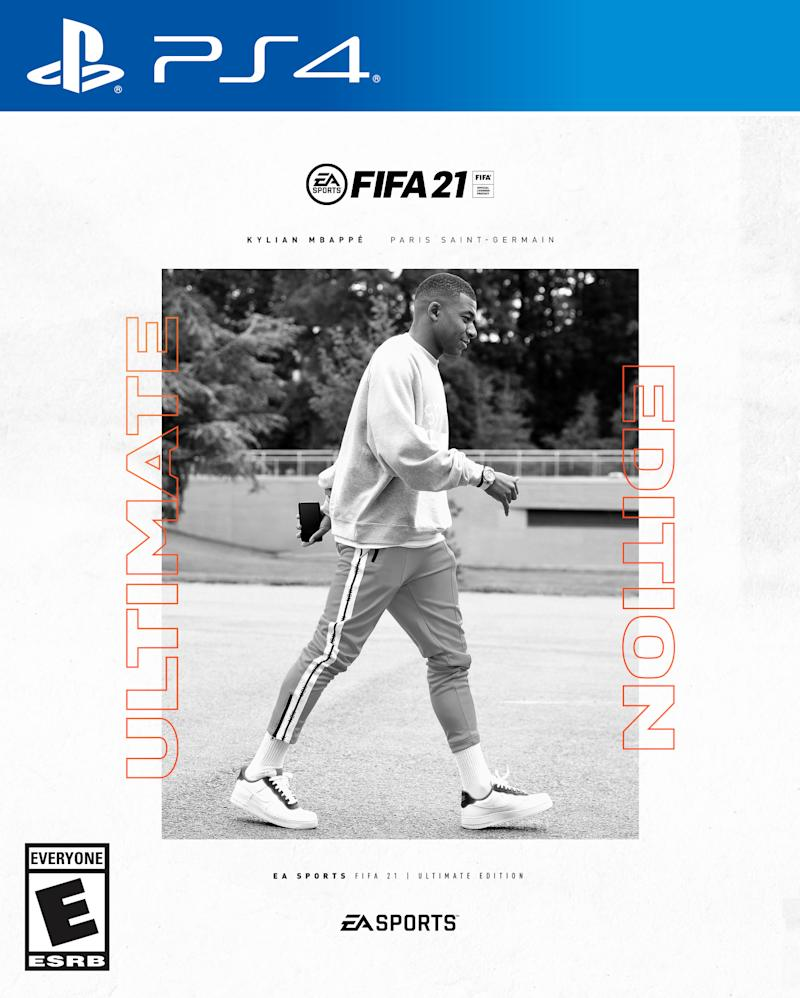 EMBED ONLY FIFA 21 Ultimate cover Kylian Mbappe