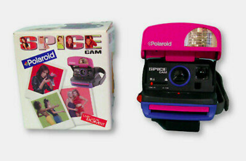 """<p>I am honestly furious about the fact that I never owned a Spice Cam. If you too are furious, buy it on eBay for <a href=""""https://www.ebay.com/itm/SPICE-GIRLS-POLAROID-SPICE-CAM-SPICECAM-NEW-IN-BOX-INSTRUCTIONS-STICKERS/202749709383?hash=item2f34d30c47:g:e6YAAOSw0cVdRz3u"""" rel=""""nofollow noopener"""" target=""""_blank"""" data-ylk=""""slk:$115"""" class=""""link rapid-noclick-resp"""">$115</a>. </p>"""