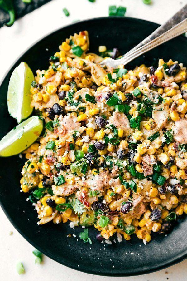 "<p>Make a creamy pasta salad with this delicious dish inspired by Mexican street corn. </p><p><strong>Get the recipe at <a href=""https://www.chelseasmessyapron.com/mexican-street-corn-pasta-salad-2/"" rel=""nofollow noopener"" target=""_blank"" data-ylk=""slk:Chelsea's Messy Apron"" class=""link rapid-noclick-resp"">Chelsea's Messy Apron</a>.</strong></p><p><strong><a class=""link rapid-noclick-resp"" href=""https://go.redirectingat.com?id=74968X1596630&url=https%3A%2F%2Fwww.walmart.com%2Fsearch%2F%3Fquery%3Dmixing%2Bbowls&sref=https%3A%2F%2Fwww.thepioneerwoman.com%2Ffood-cooking%2Fmeals-menus%2Fg35993911%2Fbest-corn-recipes%2F"" rel=""nofollow noopener"" target=""_blank"" data-ylk=""slk:SHOP MIXING BOWLS"">SHOP MIXING BOWLS</a><br></strong></p>"