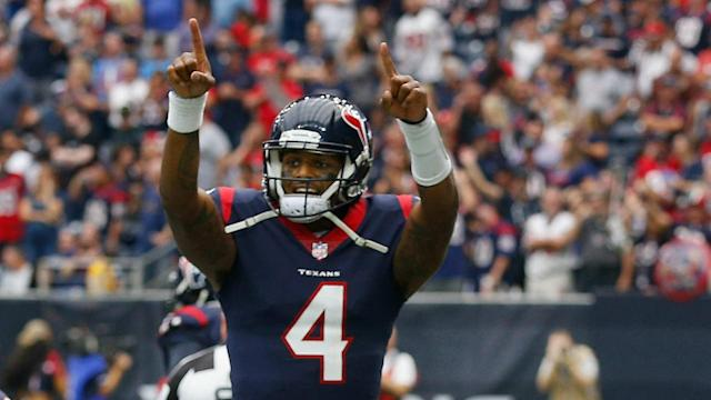 The Texans rookie accounted for five touchdowns, becoming just the sixth rookie QB in NFL history to do so.