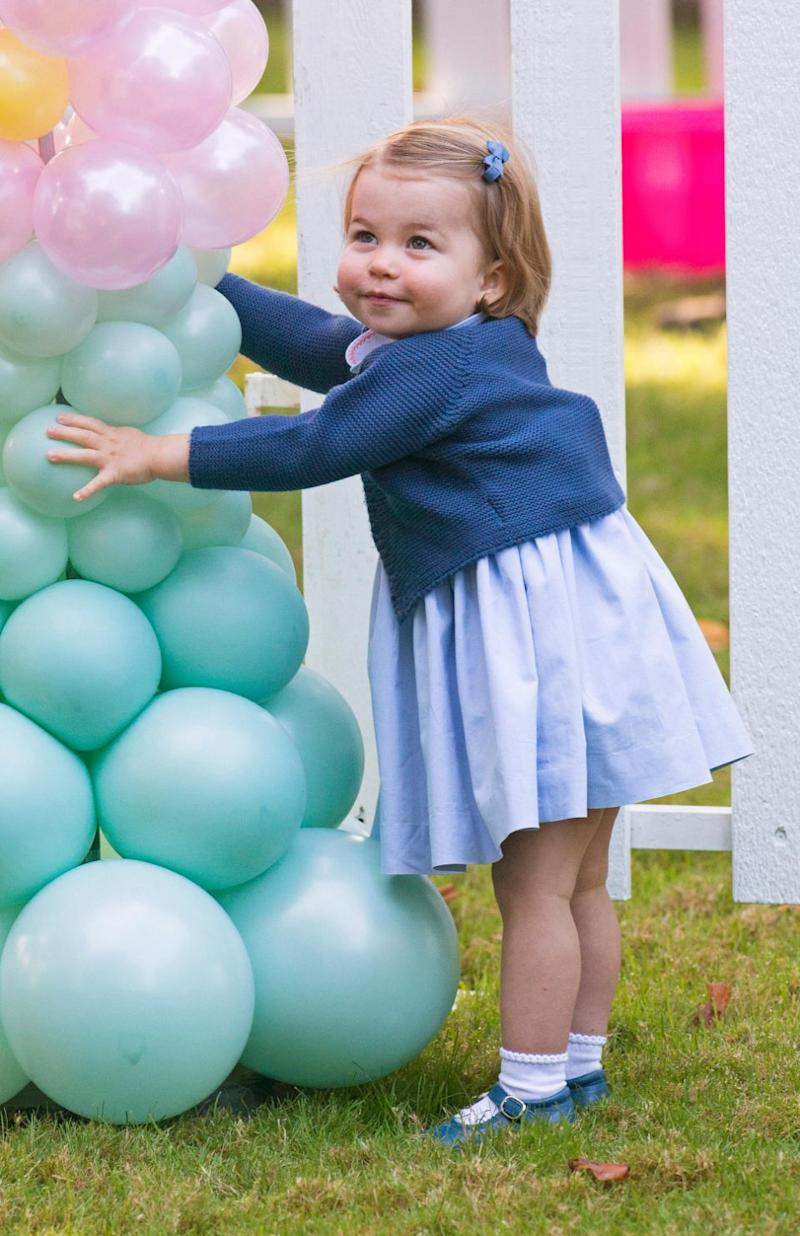 Princess Charlotte's presence at a posh tennis club has reportedly angered patrons. Photo: Getty Images