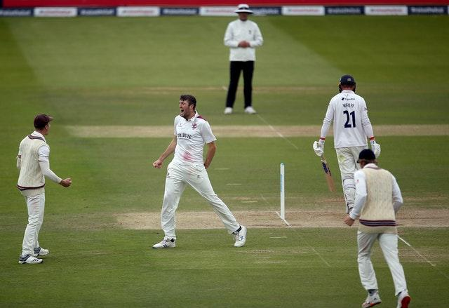 Craig Overton was fired up