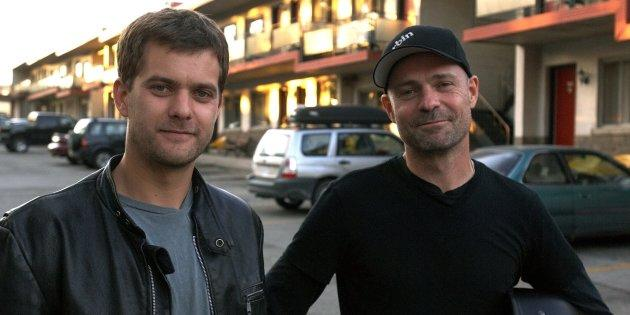 Joshua Jackson, left, and Gord Downie, right, starred in the 2008 film,