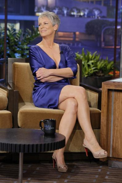 "<div class=""caption-credit""> Photo by: Getty</div><div class=""caption-title""></div>Actress and Hollywood royalty <b>Jamie Lee Curtis</b> defined tough girl sexuality with her athletic performance in the 1994 action movie True Lies. Following Grable's lead, she reportedly insured her legs for <a rel=""nofollow"" target="""" href=""http://www.glamorati.com/celebrity/2008/25-celebrities-with-insured-bodyparts/"">$2 million bucks</a>. At 54, they're still working for her."