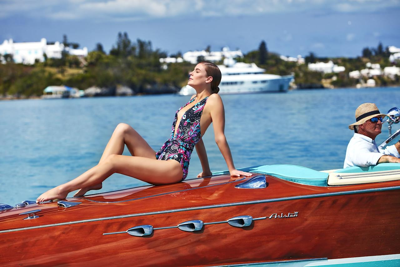 """<p>We adore the print on this <a href=""""https://www.popsugar.com/buy/Anne%20Cole%20That%27s%20a%20Wrap%20Shirred%20Plunge%20One-Piece%20Swimsuit-459515?p_name=Anne%20Cole%20That%27s%20a%20Wrap%20Shirred%20Plunge%20One-Piece%20Swimsuit&retailer=walmart.com&price=30&evar1=fab%3Auk&evar9=45690035&evar98=https%3A%2F%2Fwww.popsugar.com%2Ffashion%2Fphoto-gallery%2F45690035%2Fimage%2F46268669%2FAnne-Cole-Wrap-Shirred-Plunge-One-Piece-Swimsuit&list1=shopping%2Cwalmart%2Cswimwear%2Cswimsuits%2Caffordable%20shopping&prop13=api&pdata=1"""" rel=""""nofollow"""" data-shoppable-link=""""1"""" target=""""_blank"""">Anne Cole That's a Wrap Shirred Plunge One-Piece Swimsuit</a> ($30).</p>"""