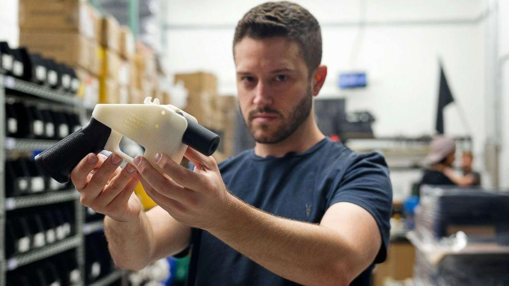 Cody Wilson, owner of 3D-printed gun company, wanted in connection to alleged sexual assault of a minor (ABC News)