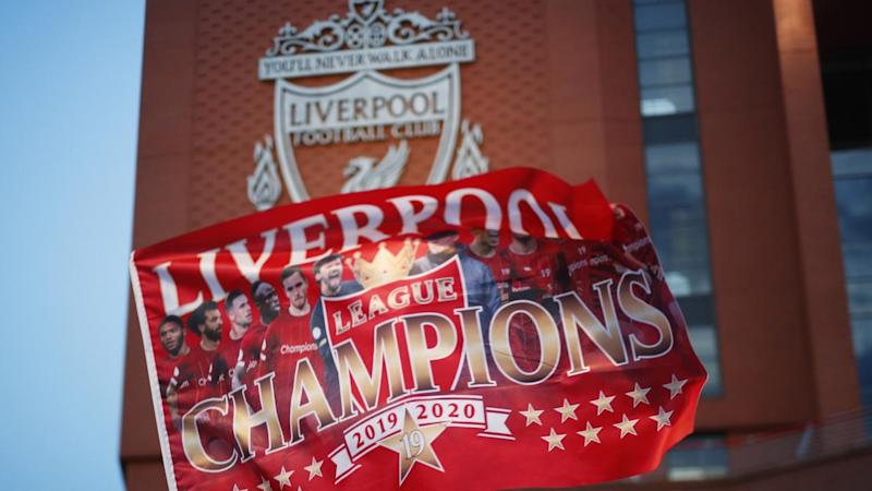 Liverpool were crowned EPL champions in record time on Thursday after a 30-year wait