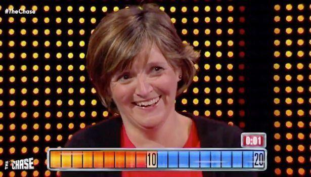 Contestant Judith won £70,000 on The Chase (Photo: ITV)