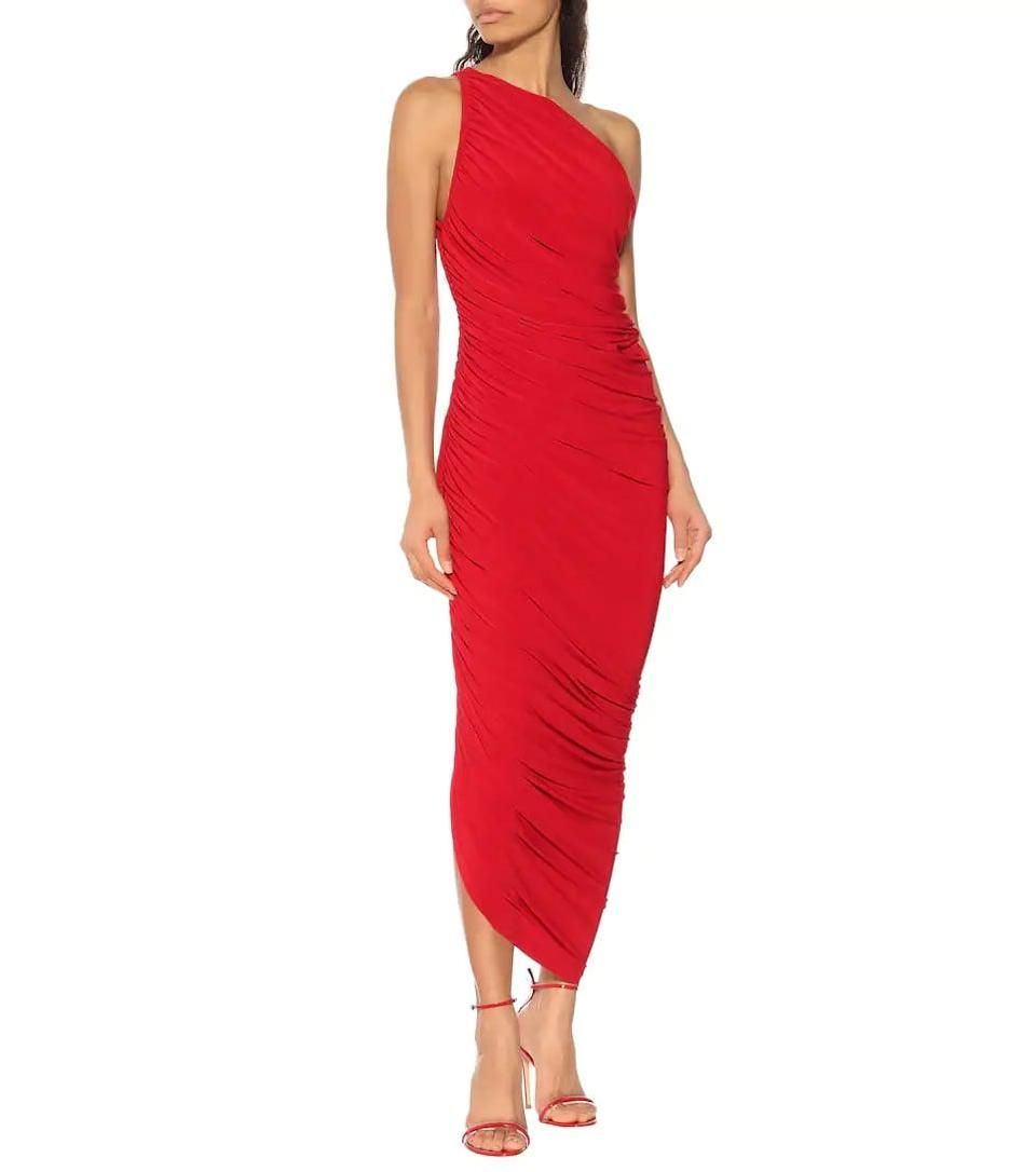 <p>This <span>Norma Kamali Diana Jersey One-shoulder Midi Dress</span> ($258) is so gorgeous. It's one you'll have in your closet for years to come.</p>