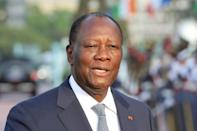 "President Alassane Ouattara had promised earlier this year to step down and hand on to a ""new generation"""