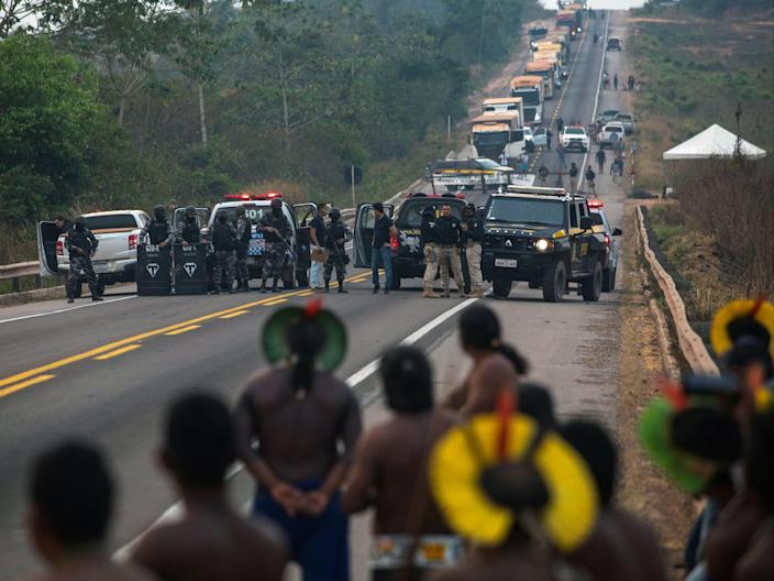 A record 264 human rights defenders were killed in Latin America in 2020 (AFP via Getty Images)