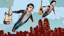 <p> <strong>UK:</strong> Now TV </p> <p> <strong>US: </strong>Amazon Prime Video, HBO </p> <p> How do you transfer a musical stand-up duo's act to TV? Answer: you get them to play fictionalised versions of themselves as struggling musicians trying to make it in New York. Jemaine Clement and Bret McKenzie's efforts to make it as New Zealanders in the big city are beautifully crafted, but what really makes the show stick in the memory is the songs, a succession of superlative comedy tracks spoofing everything from David Bowie to Marvin Gaye to hip hop to Lord of the Rings. Their manager Murray (Rhys Darby) is pretty good too. </p>