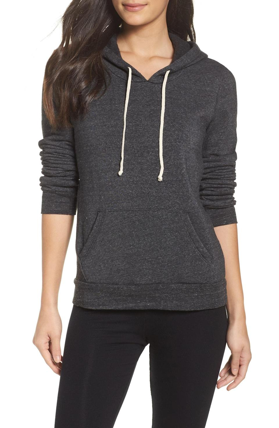 <p>You can't go wrong with a reliable hoodie you know they'll use all the time. The <span>Alternative Athletics Pullover Hoodie</span> ($54) is ultra-soft and cozy with a kangaroo pocket and draw string hood. It comes in a variety of colors including black, rose quartz, and grey.</p>