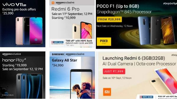 efd979399b5 Smartphones to go on sale in India this week  Redmi 6 Pro