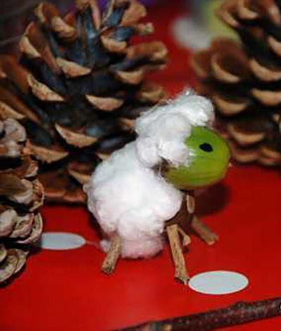 """<p>Have you any wool (or cotton balls)? If so, you can turn your acorn into little sheep — or horses, if your kids prefer the wool-less look. </p><p><em><a href=""""https://www.redtedart.com/kids-get-crafty-acorn-animals/"""" rel=""""nofollow noopener"""" target=""""_blank"""" data-ylk=""""slk:Get the tutorial at Red Ted Art »"""" class=""""link rapid-noclick-resp"""">Get the tutorial at Red Ted Art »</a> </em></p>"""