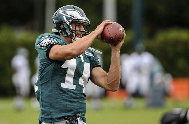 Riley Cooper starts for Eagles, gets reception and crowd (mostly) cheers