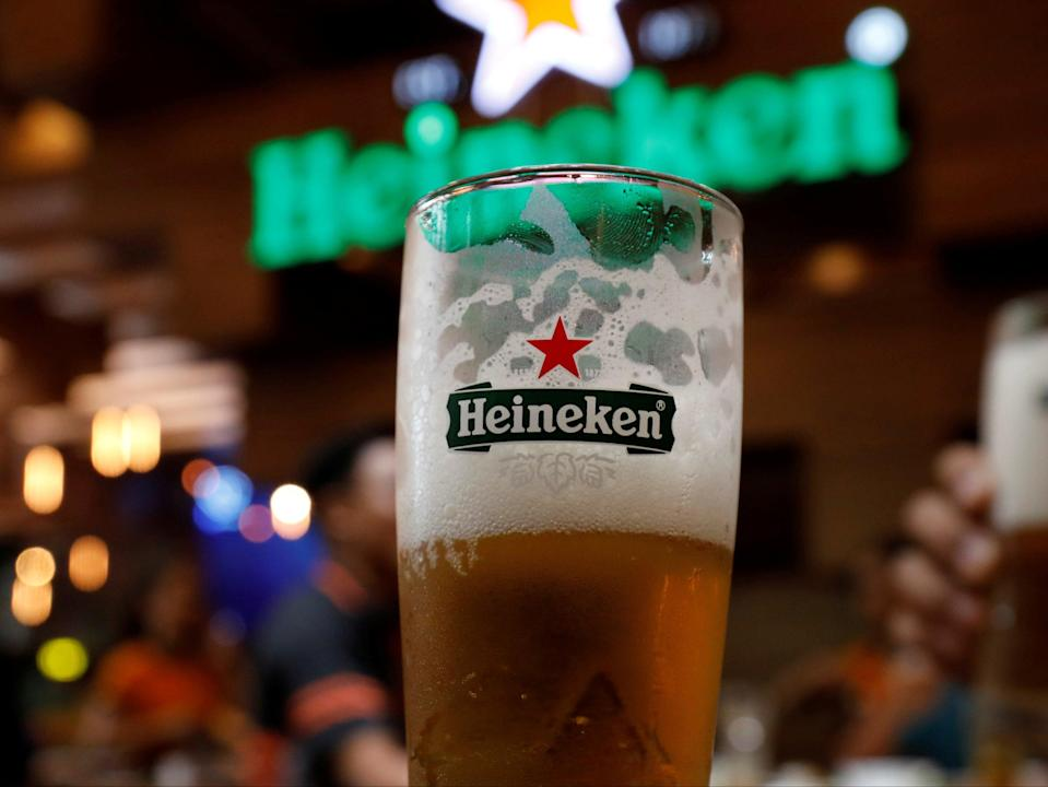 Beer sales tumbled by 8.1 per cent over the yearReuters