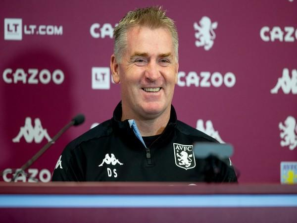 Aston Villa head coach Dean Smith (Photo/ Aston Villa Twitter)