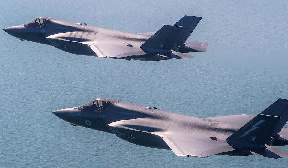 The US currently restricts sales of the F-35 to its closest allies: Photo: EPA-EFE/USAF