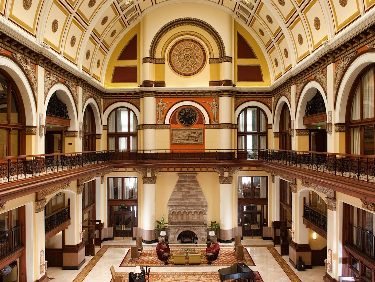 <p><strong>How did it strike you on arrival?</strong><br> Union Station, once Nashville's central train terminal, is one of the city's most recognizable buildings. The hotel that now fills the space has 65-foot vaulted lobby ceilings punctuated by century-old Tiffany-style stained glass.</p> <p><strong>What's the crowd like?</strong><br> It's easy to imagine all the guests during an earlier time were fresh off the train, hats in one hand, valises in the other. Nowadays, Union Station plays host to a wide range: tourists en route to Broadway, wedding parties attending a reception in the central atrium, and business types in town for a meeting.</p> <p><strong>Tell us about the rooms.</strong><br> A recent renovation means the rooms have more of a contemporary feel than the common areas would lead you to believe. Think playful accents like cowhide headboards and bold red pillows. Also, if you can, book an interior room with windows that open out into the atrium.</p> <p><strong>How about the little things, like minibar, or shower goodies. Any of that find that worth a mention?</strong><br> You'll no doubt try to check out with some of the bold, original art smuggled in your luggage.</p> <p><strong>What's the bathroom like?</strong><br> Spacious and standard with ROAM toiletries on hand.</p> <p><strong>Maybe the most important topic of all: Wi-Fi. What's the word?</strong><br> Wi-Fi starts at $9.95 a day and goes up in cost depending on how fast you want it.</p> <p><strong>What's the story with room service?</strong><br> Room service from the on-site restaurant Carter's is available throughout the day, ending between 11 p.m. and midnight, depending on whether's it's a weekday or weekend. Entrées run from $10 to $32, and there are plenty of shareable plate options, too.</p> <p><strong>Anything we forgot to ask about?</strong><br> Union Station hosts a live music series Riffs on the Rails, every other Thursday, featuring both local and national singers and songwriters.</p> <p><strong>Bottom line: Is it worth it?</strong><br> If you can get this hotel in the neighborhood of $250, it's worth it, but unfortunately, due to Nashville's high demand, rooms are more often in the $400 to $500 price range.</p>