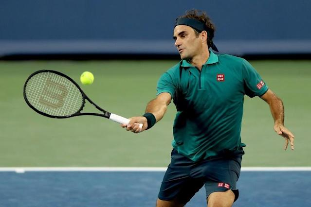 Roger Federer moves into the third round of the ATP Cincinnati Masters with a straight-sets win over Argentina's Juan Ignacio Londero (AFP Photo/MATTHEW STOCKMAN)