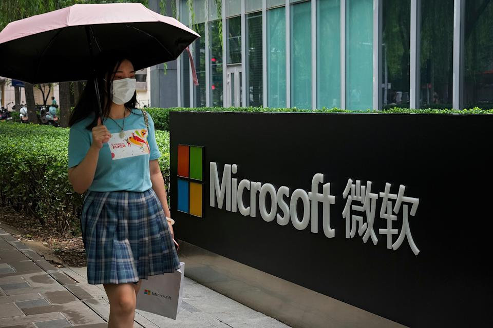 The Microsoft hack affected at least 30,000 organisations globally  (The Associated Press)