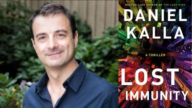 Lost Immunity by Vancouver emergency room physician Daniel Kalla was released Tuesday, May 4. (Michael Bednar Photography, Simon & Schuster Canada - image credit)