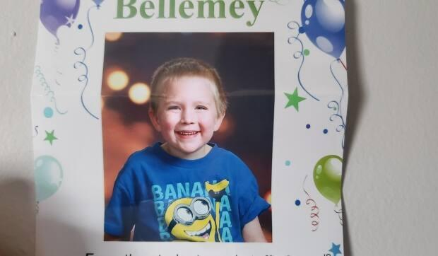 At five years old, and new to his diagnosis, Bellemey DesRoche isn't comfortable using his insulin pen on himself.