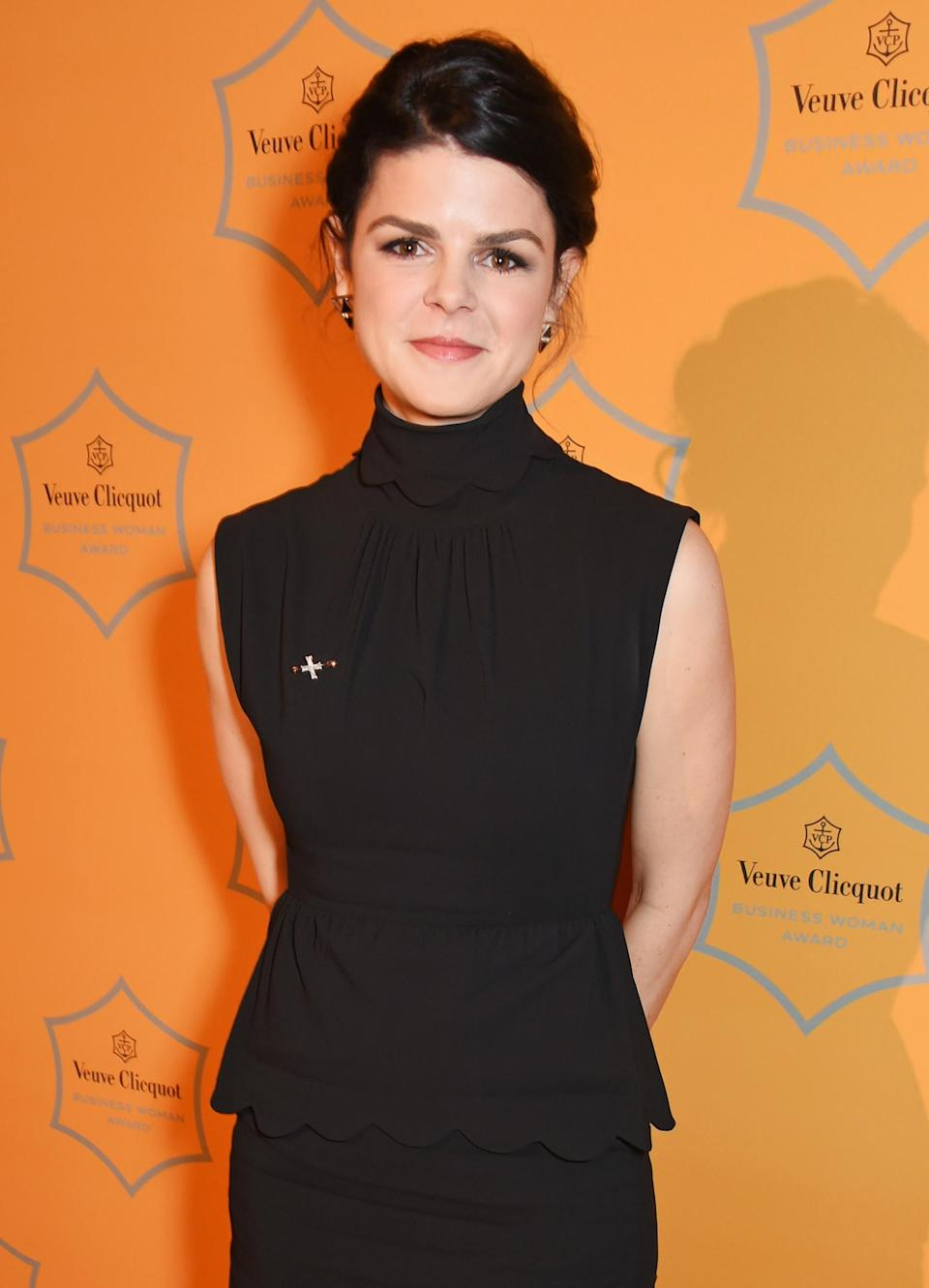 Alice Bentinck attends the Veuve Clicquot Business Woman Awards at Claridges Hotel in London, 2017 . (Photo: David M Benett/Dave Benett/Getty Images)