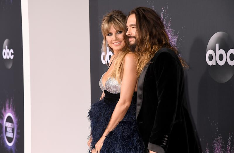 Married couple Heidi Klum and Tom Kaulitz are enjoying quality time on vacation. (Photo: Jeff Kravitz/FilmMagic for dcp)