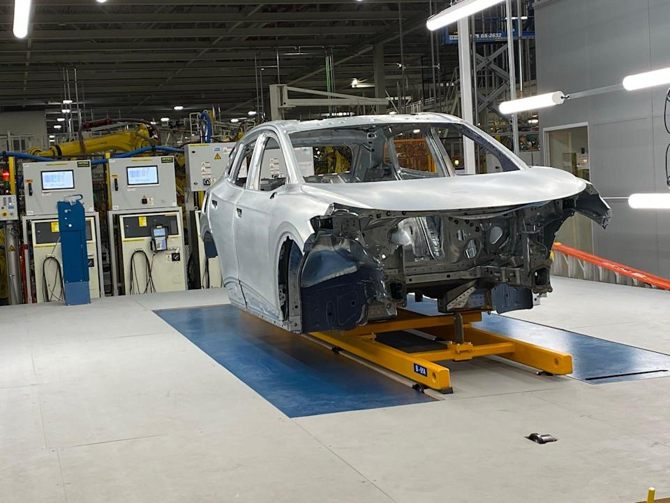 VW's $4.3 billion Chattanooga plant is building pilot models of the 2021 Volkswagen ID4